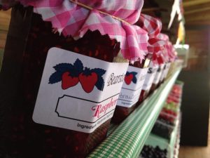 Homemade chutneys and jams available in a variety of flavours